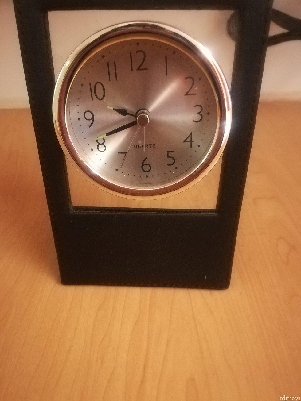 時計はとまってます。 意味ない…
