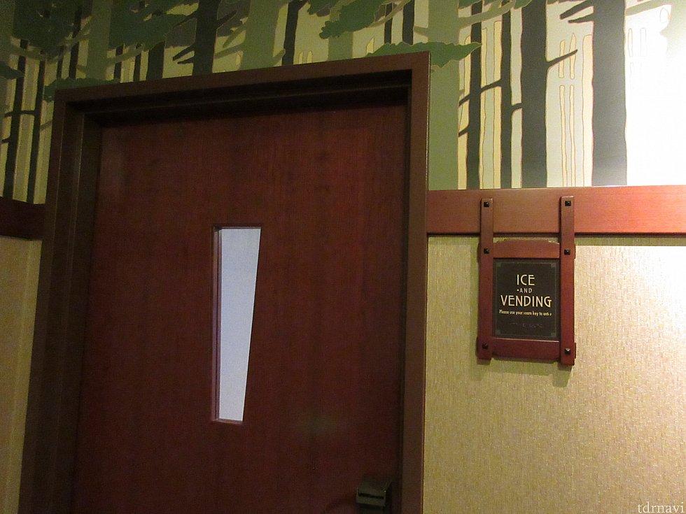 自販機がエレベーター乗り場の近くにあります💡ここに入るのにもカードキーが必要になります🔑
