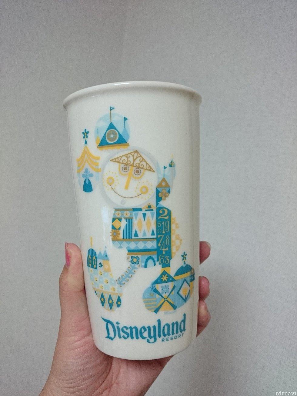 購入したスモールワールドデザインの陶器タンブラー!