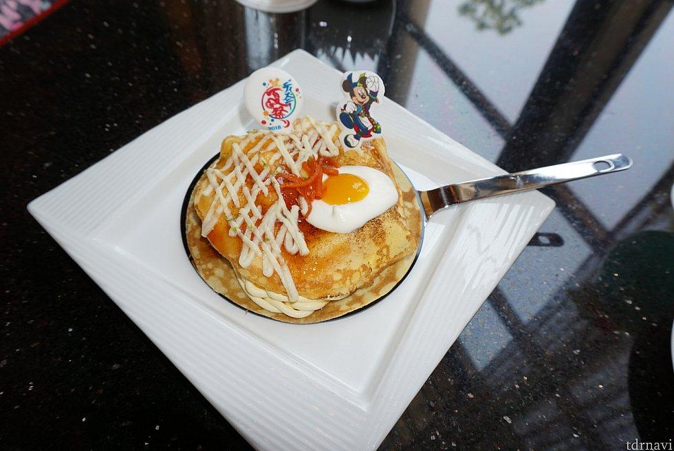 ディズニー夏祭りケーキ