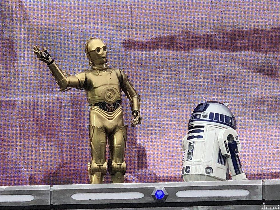 C-3POとR2-D2