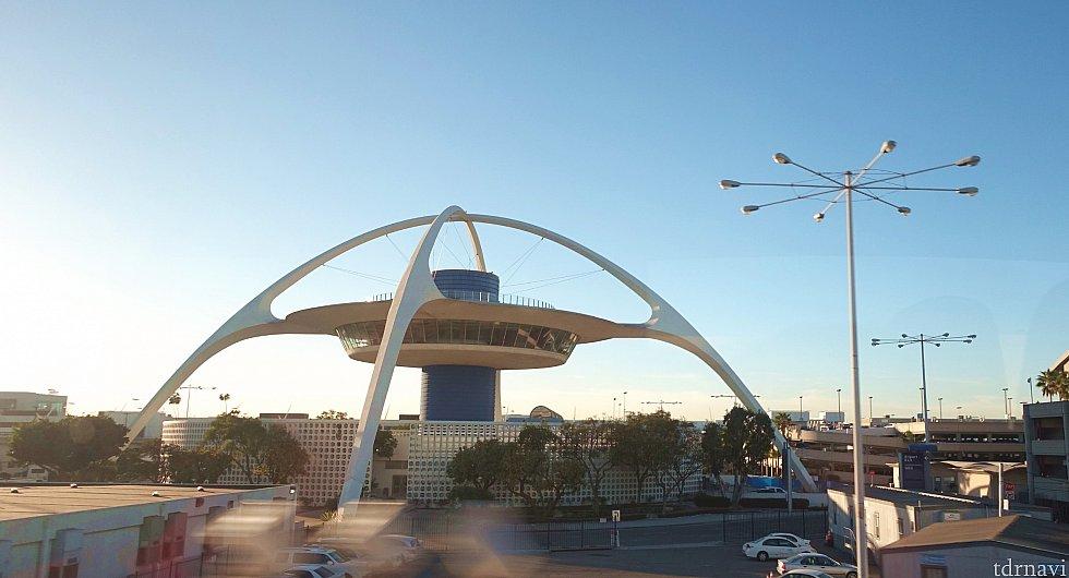 ロサンゼルス空港に到着!