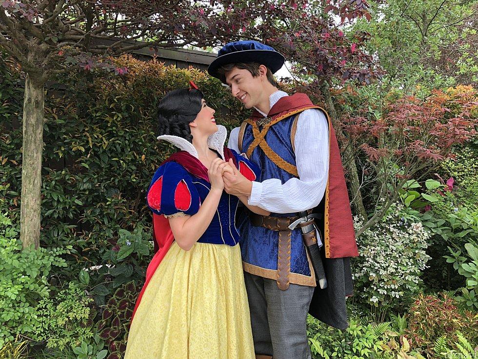 白雪姫と王子様 こんなシーンあるーって感じな写真頂きました!
