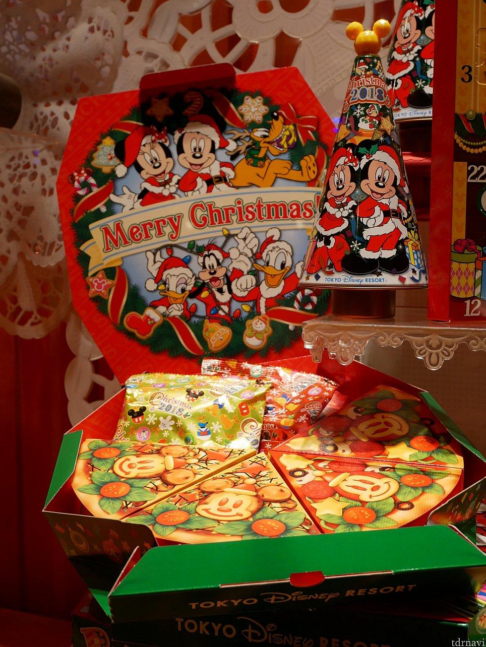 他にもこんなピザボックスのようなお菓子も売ってました😆 1300円