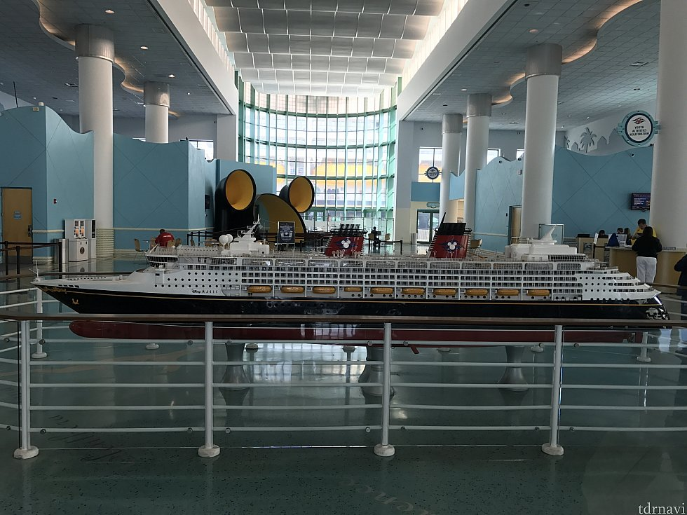 有名な船の模型