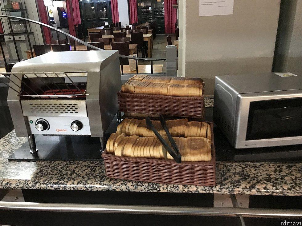 食パン トーストできますよ!