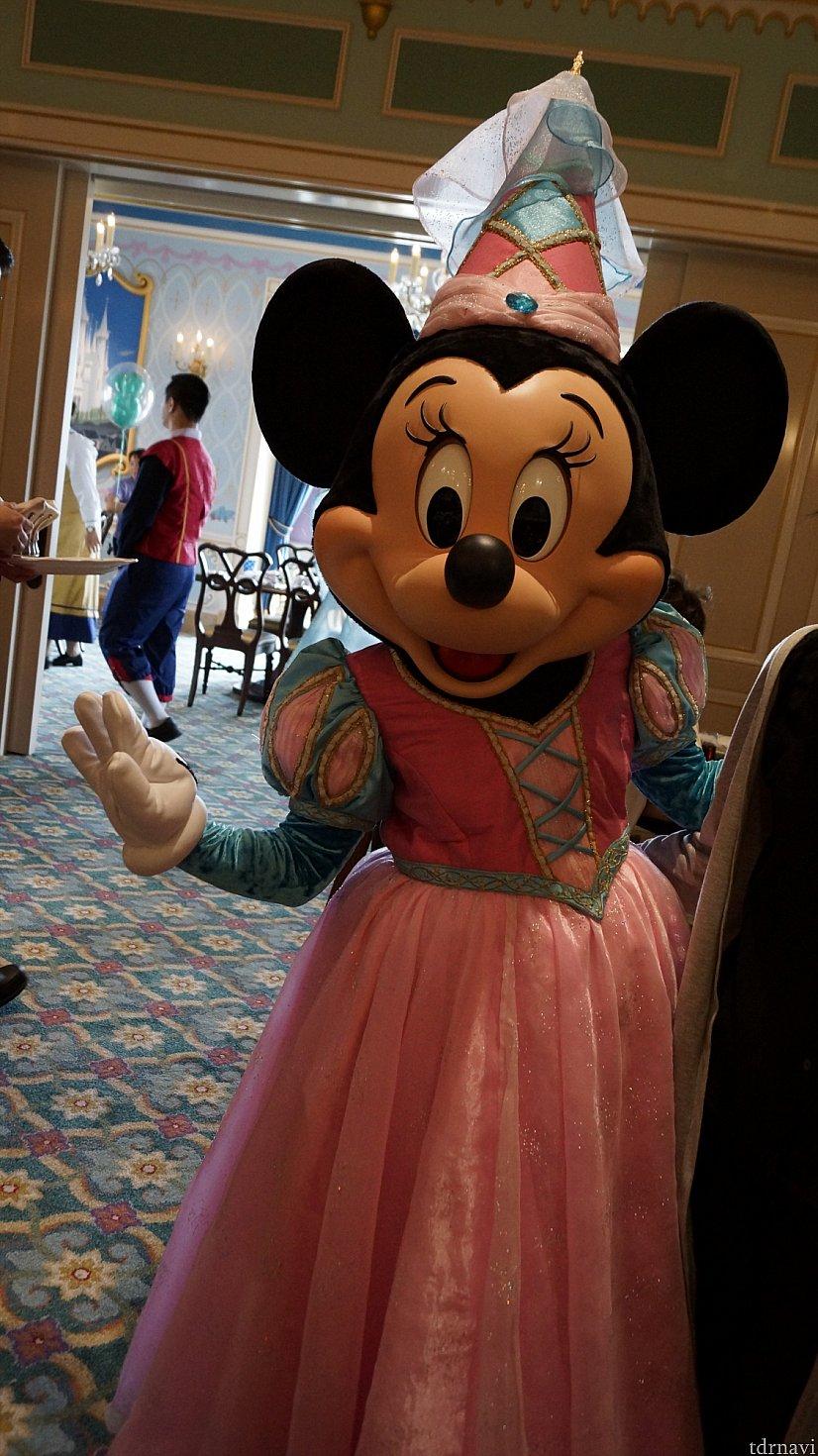 化粧していないミニーさんは可愛すぎます