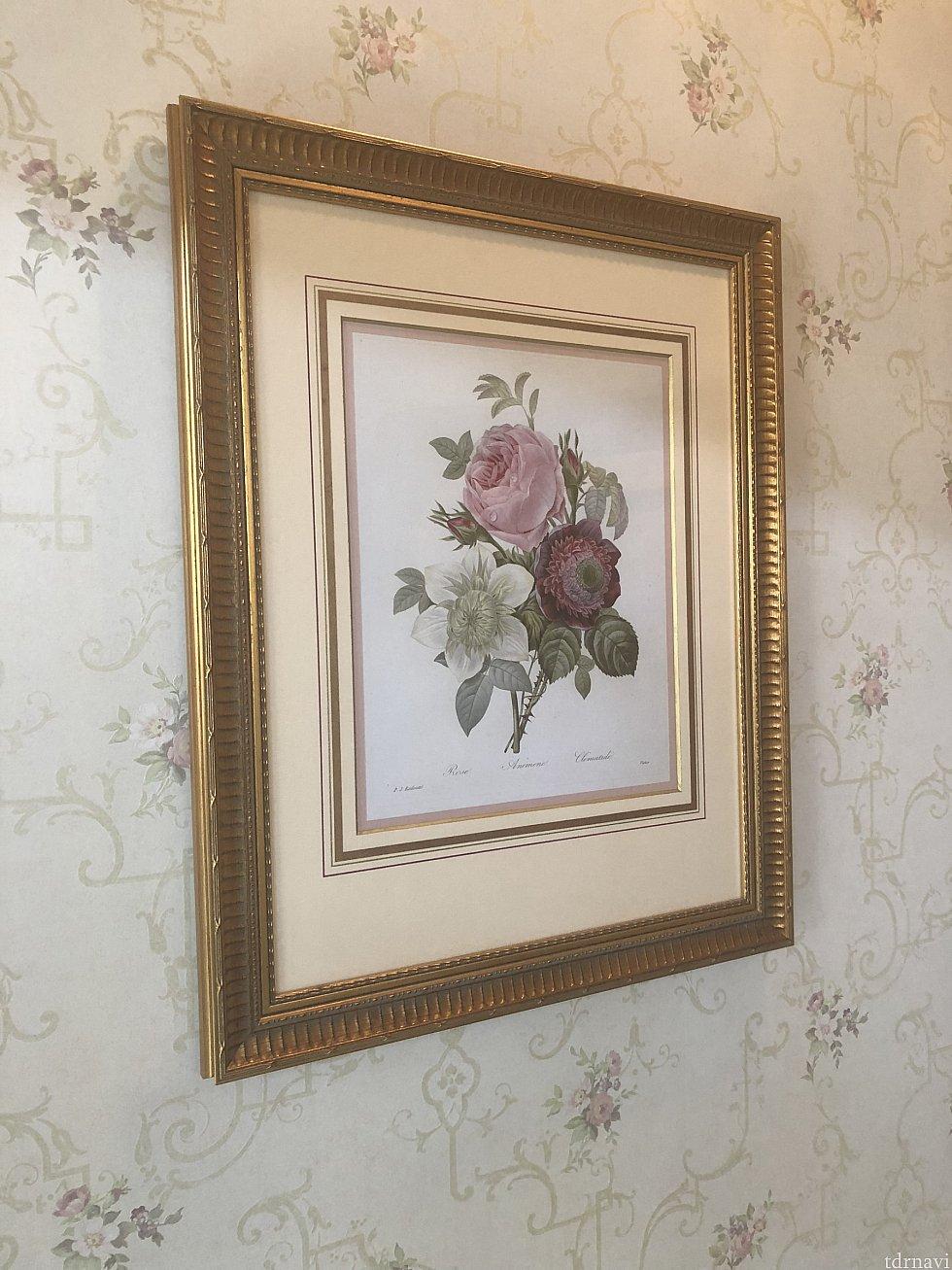 薔薇の絵画②