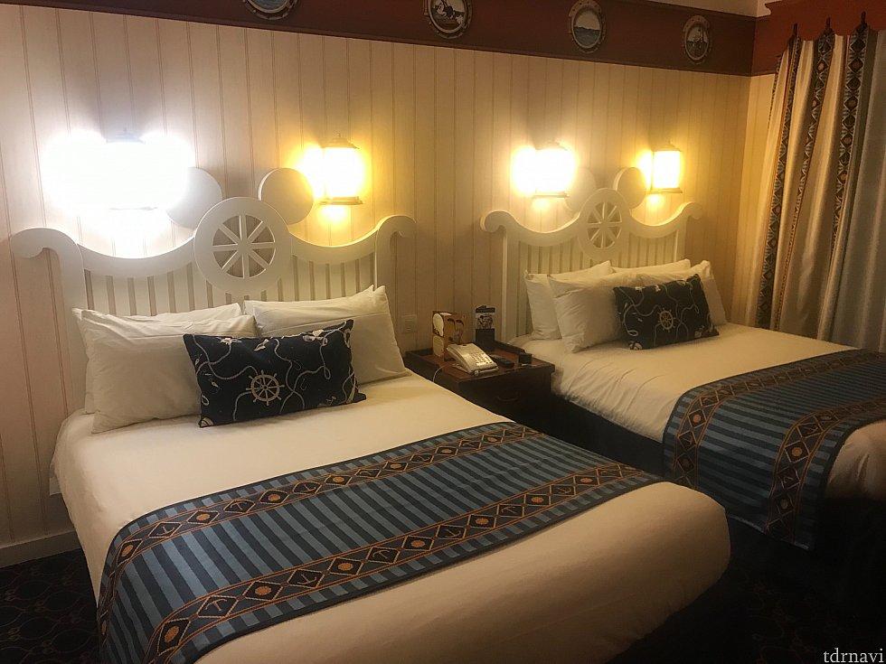 お部屋の雰囲気。シンプルで可愛いです!