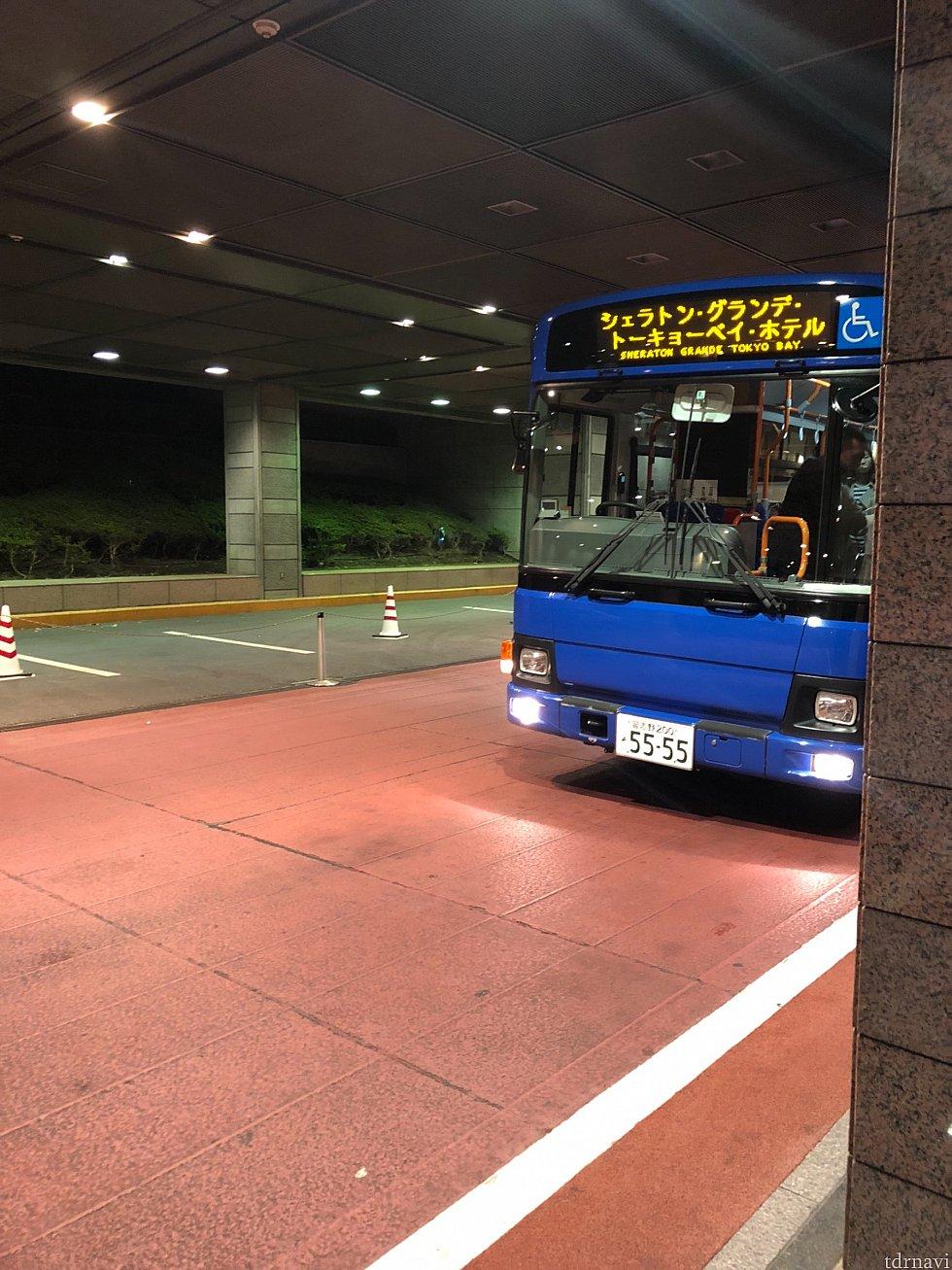 バスで舞浜駅まで利用しました(^。^)