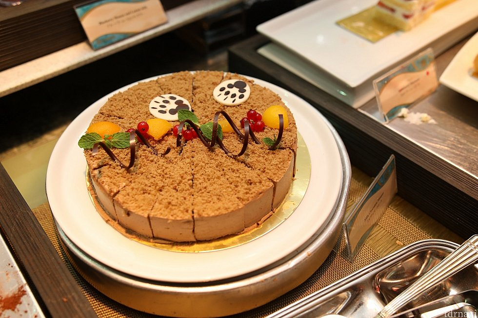 ダッフィーをモチーフにしたケーキ可愛いですね♪