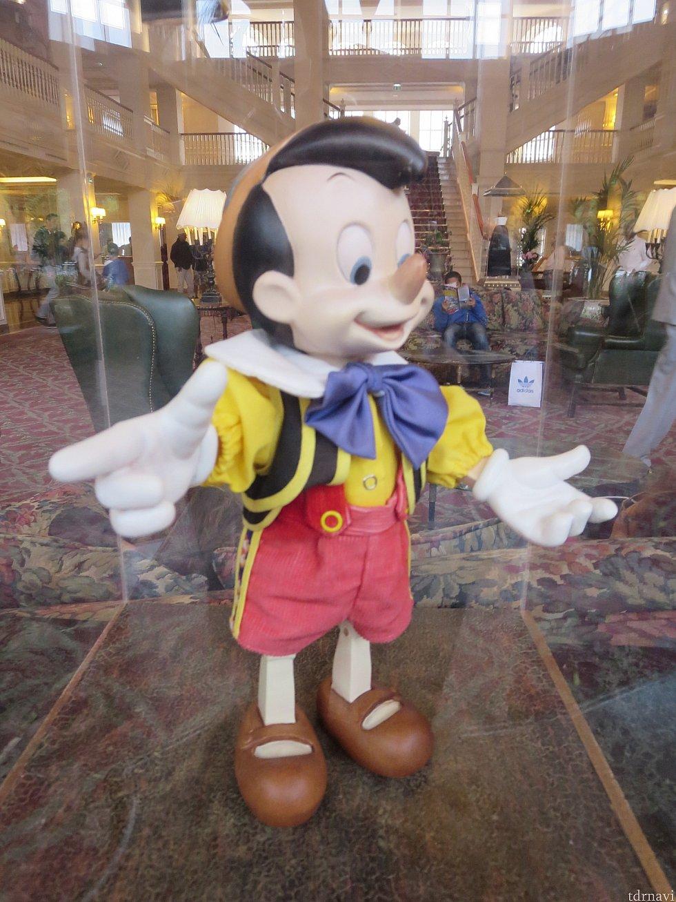 ピノキオ!