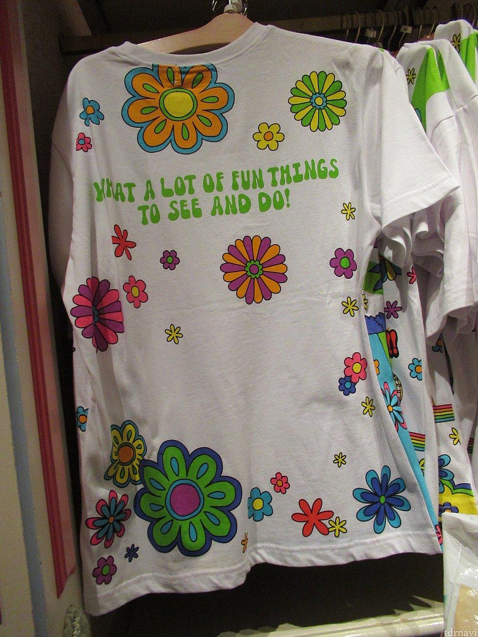 Tシャツの背中〜 夏満開!