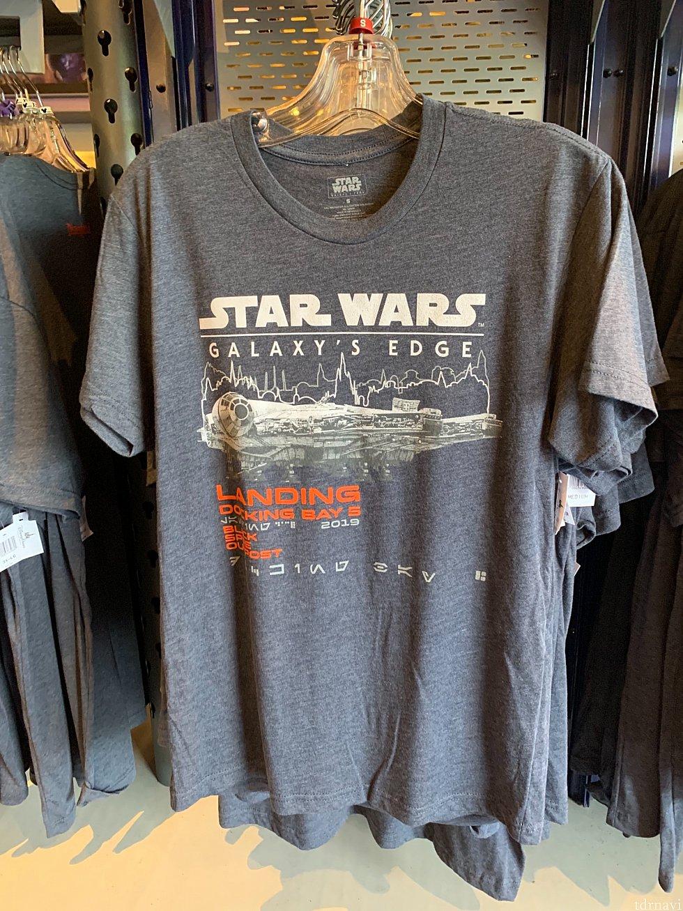 オープン記念Tシャツ35ドル。