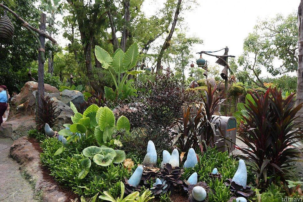 植物がとてもリアル!