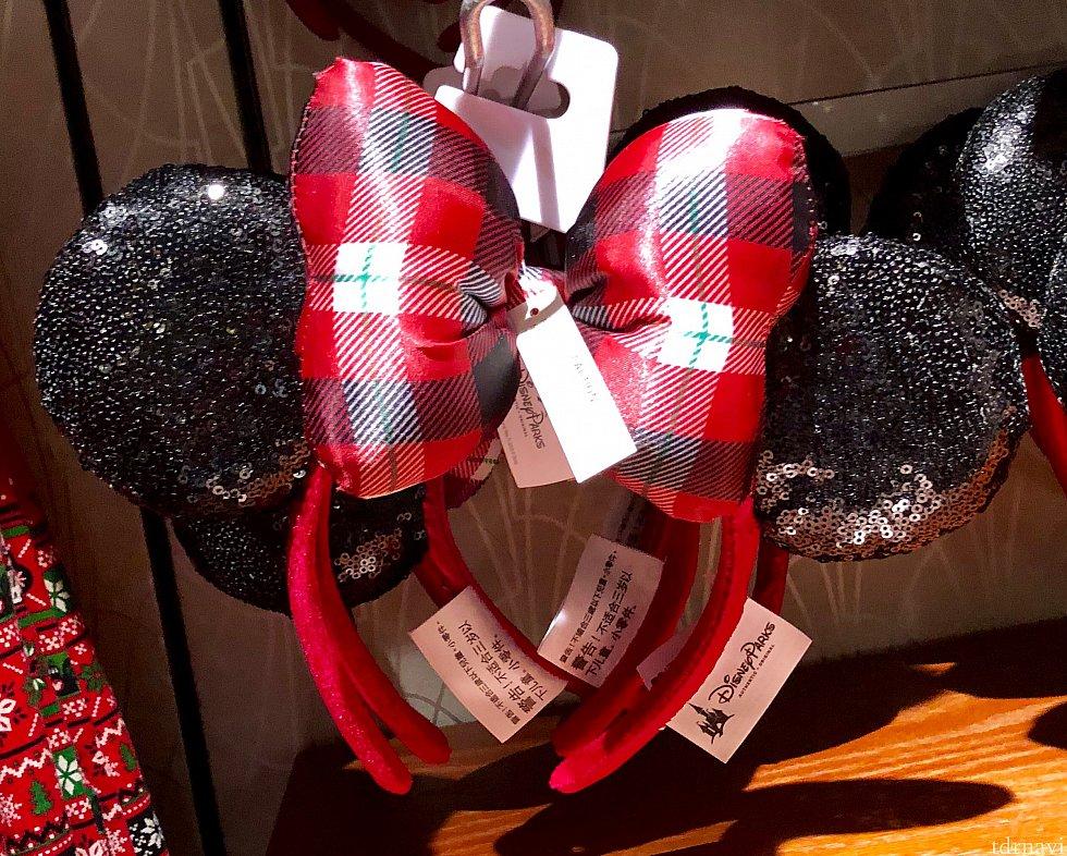 ミニーマウスのカチューシャ。$27.99