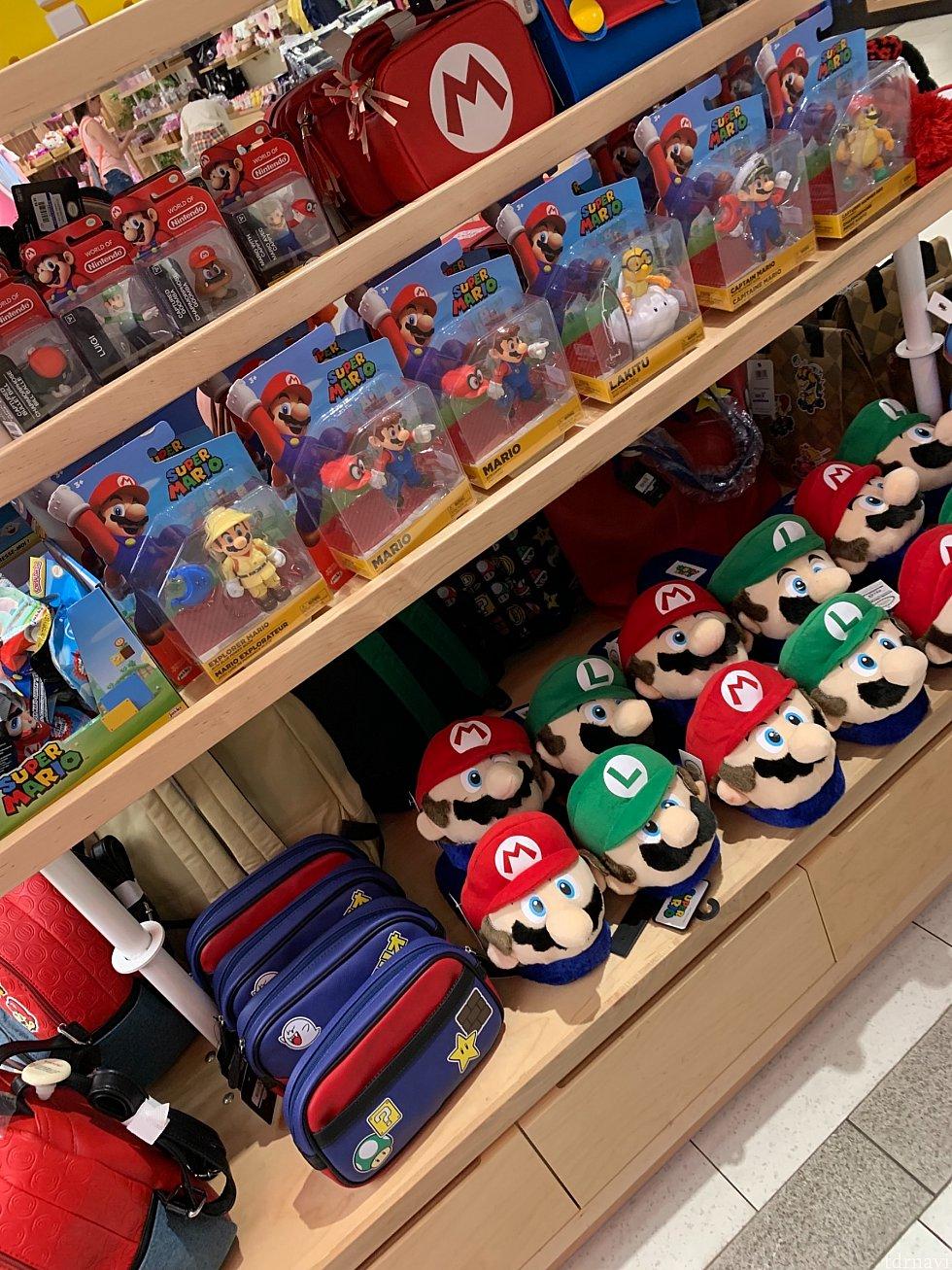 マリオをはじめ任天堂は大人気です