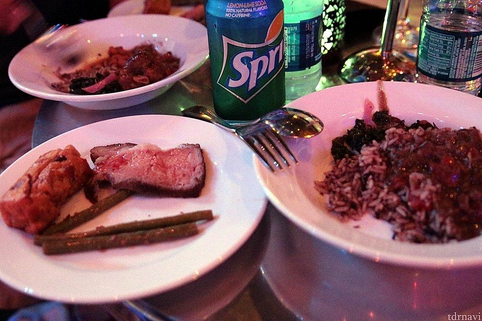 お肉はやわらかくて美味しかったです。