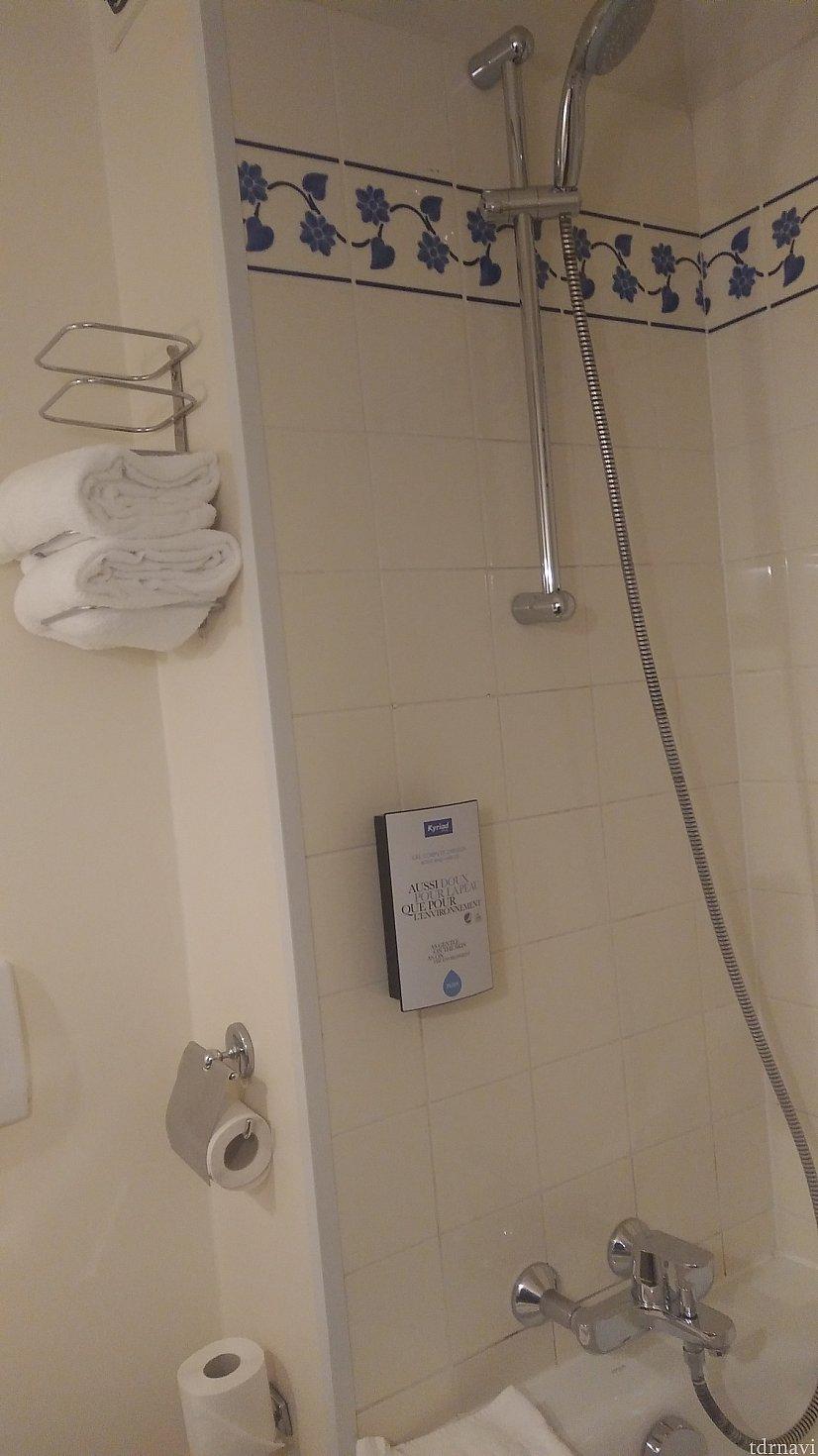 ハンドシャワーなので、使い勝手◎