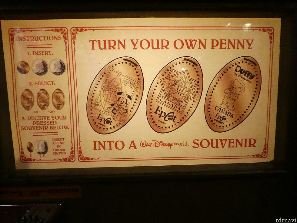 ▼カナダ館 A カナダを旅するミッキーの切手デザイン B カナダ館でも存在感のあるシャトー・ローリエ(Chateau Laurier) C カナダ名産の毛皮の帽子をかぶったDuffy