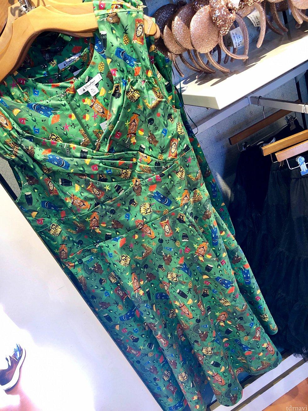 こちらはチキルームかと思いましたが、もしかしたら、トレーダーサムズバーのドレスかもしれません。
