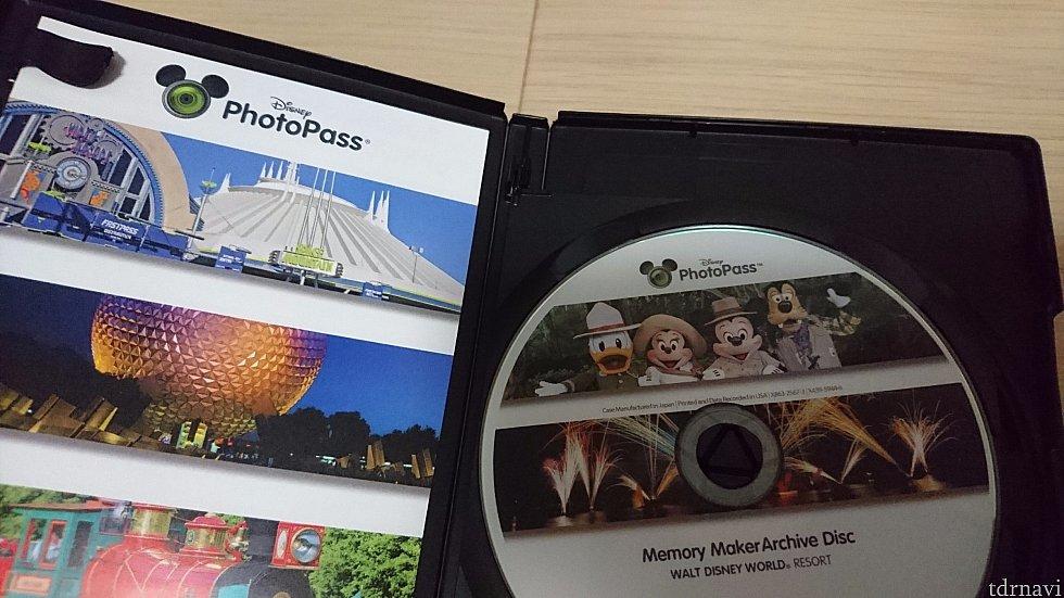 一枚目は、自分たちの写真と、アトラクション動画、マジックショット、行ったテーマパークのボーナスショット つまりメモリーメーカーにはいっているものです