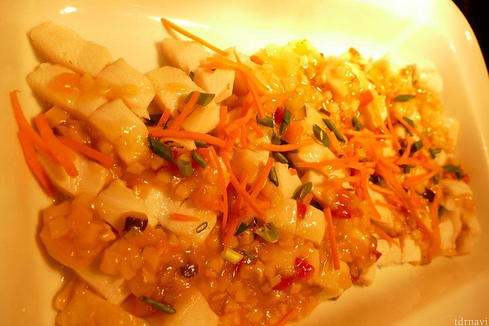 白身魚の野菜あんかけ!米が欲しくなる味。