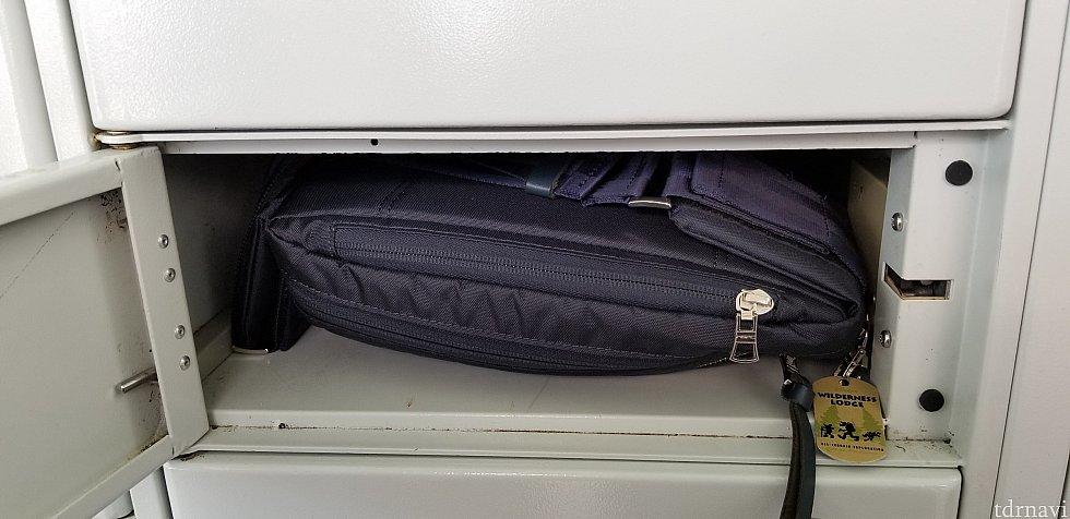 無料ロッカーはこのサイズです。