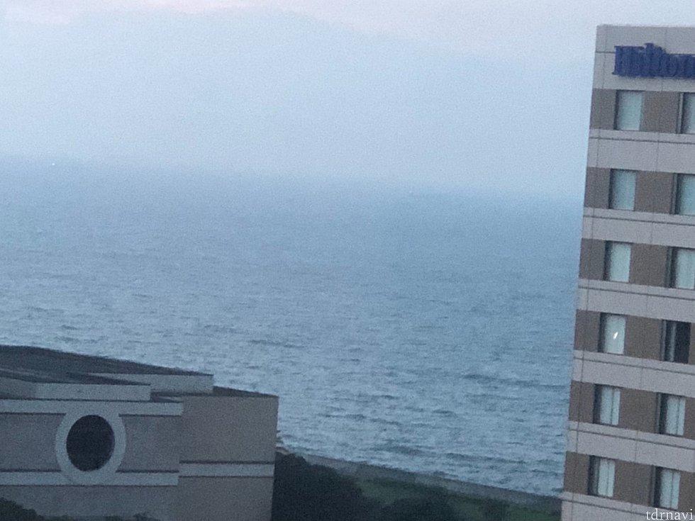 右には海も見えました🏖