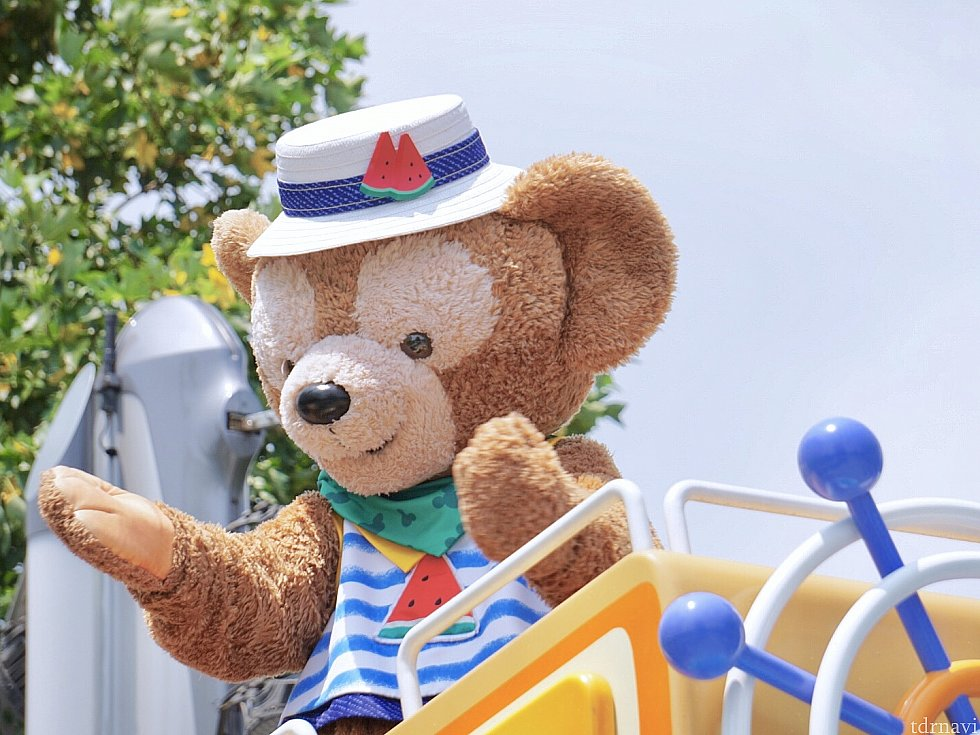 ダッフィーのプレパレード♡