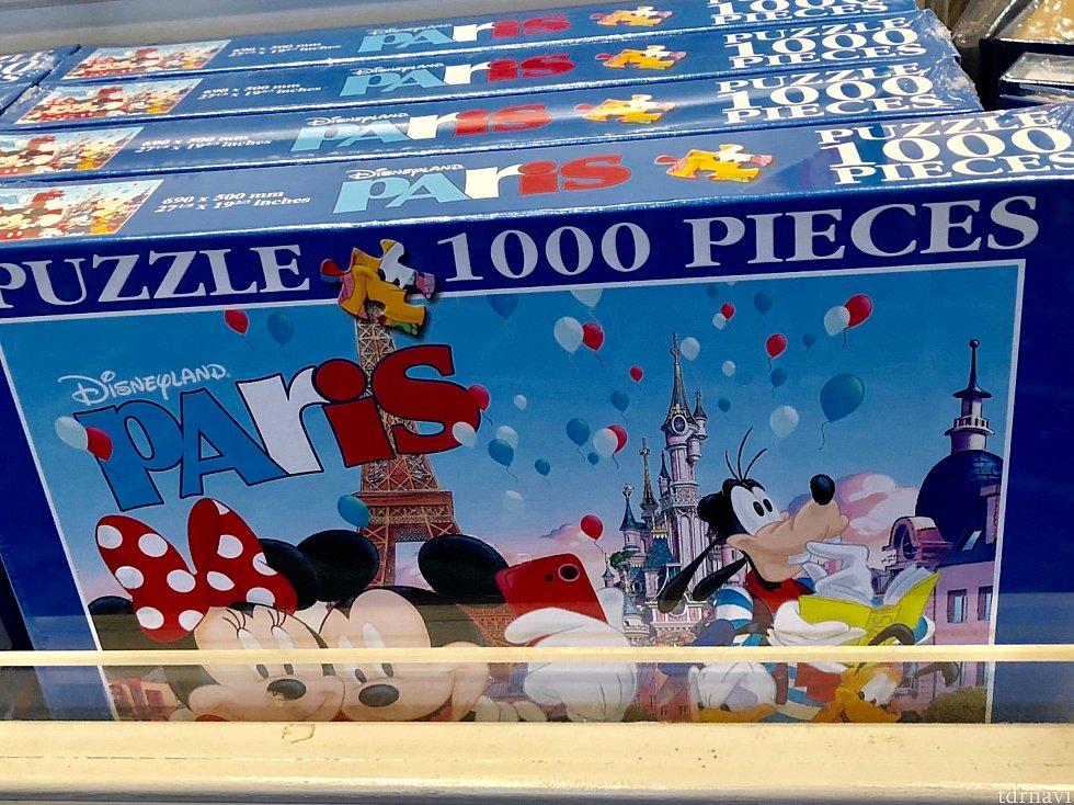 1000ピースパズルまで売ってます!!