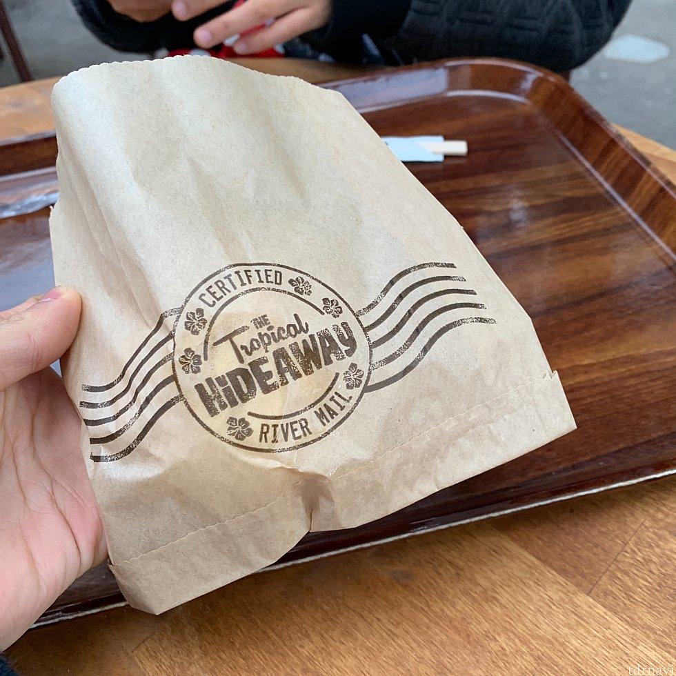 袋が可愛いです。