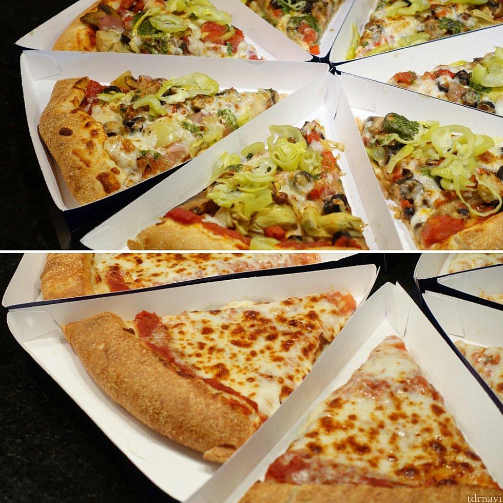 ピザも食べるか迷うくらいおいしそうでした・・・