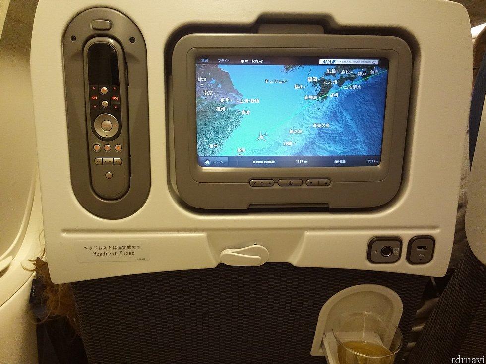 【ANA】JALもANAも機体は古め。香港エクスプレスには画面はありません。