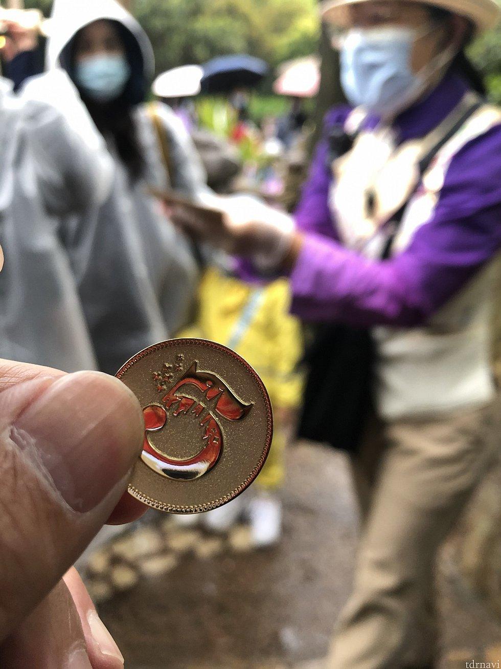 ゴールデンコインでスクラッチを削る