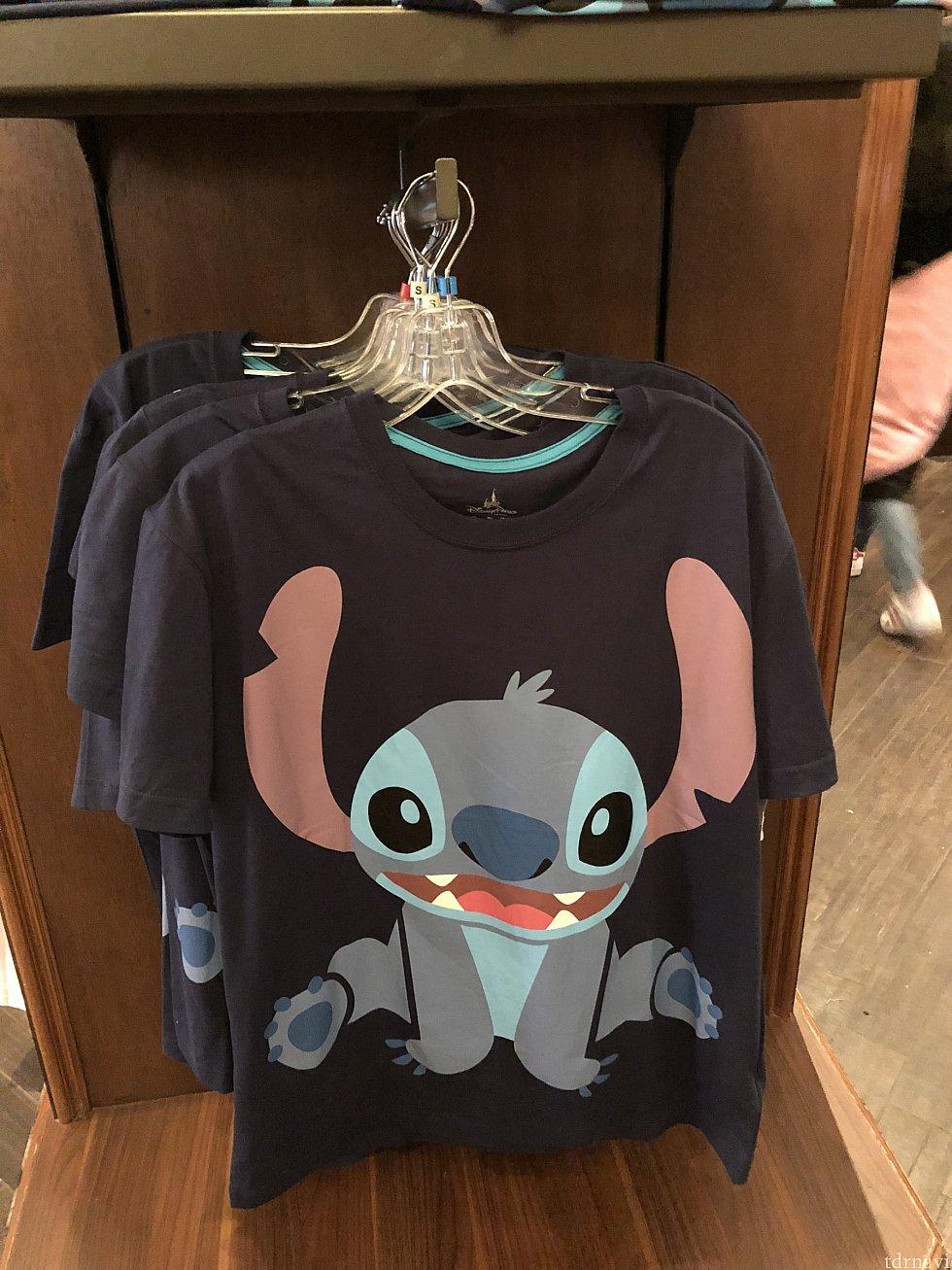 にっこりスティッチTシャツ♡こちらも大人用99元子ども用79元