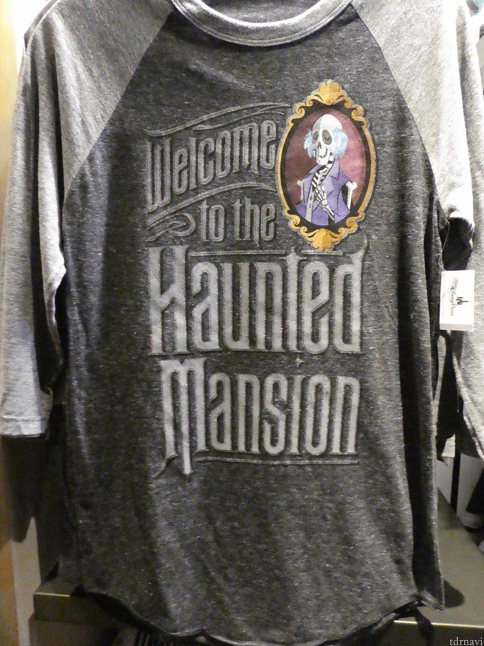 ・最初の部屋の絵のラグランTシャツ