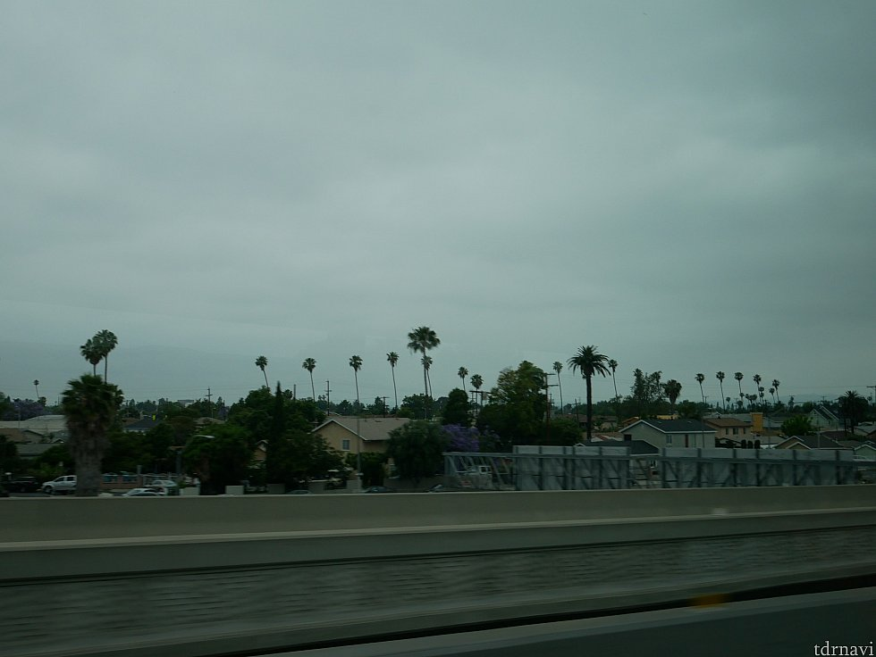 カリフォルニアっぽい風景を横目にユニバーサルに向かいます!
