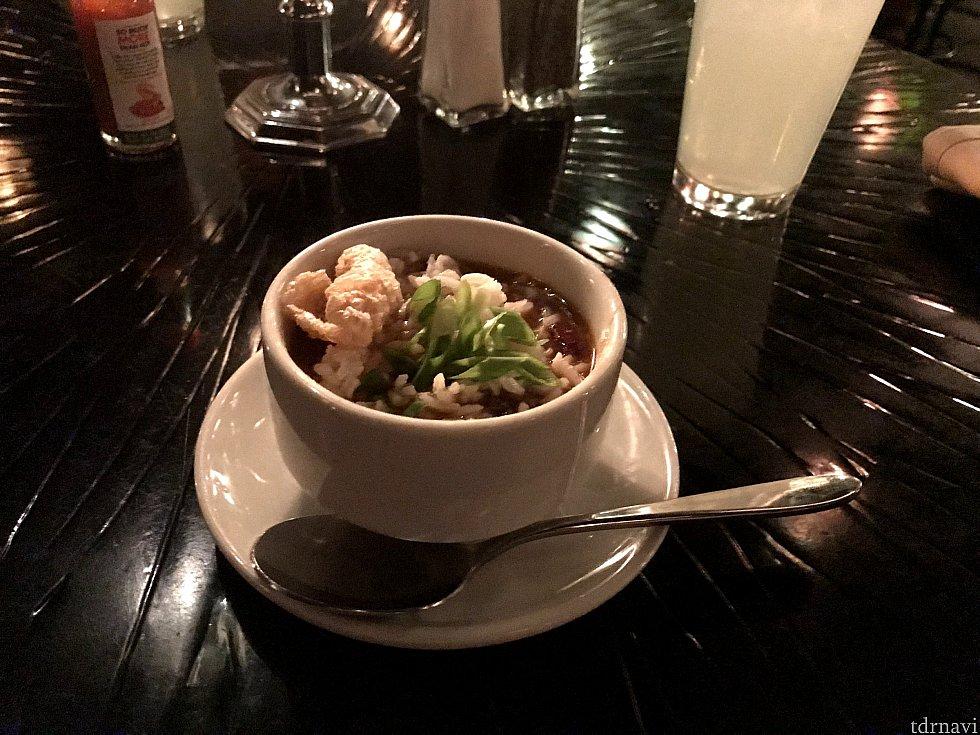 seasonal soup (ガンボスープ)