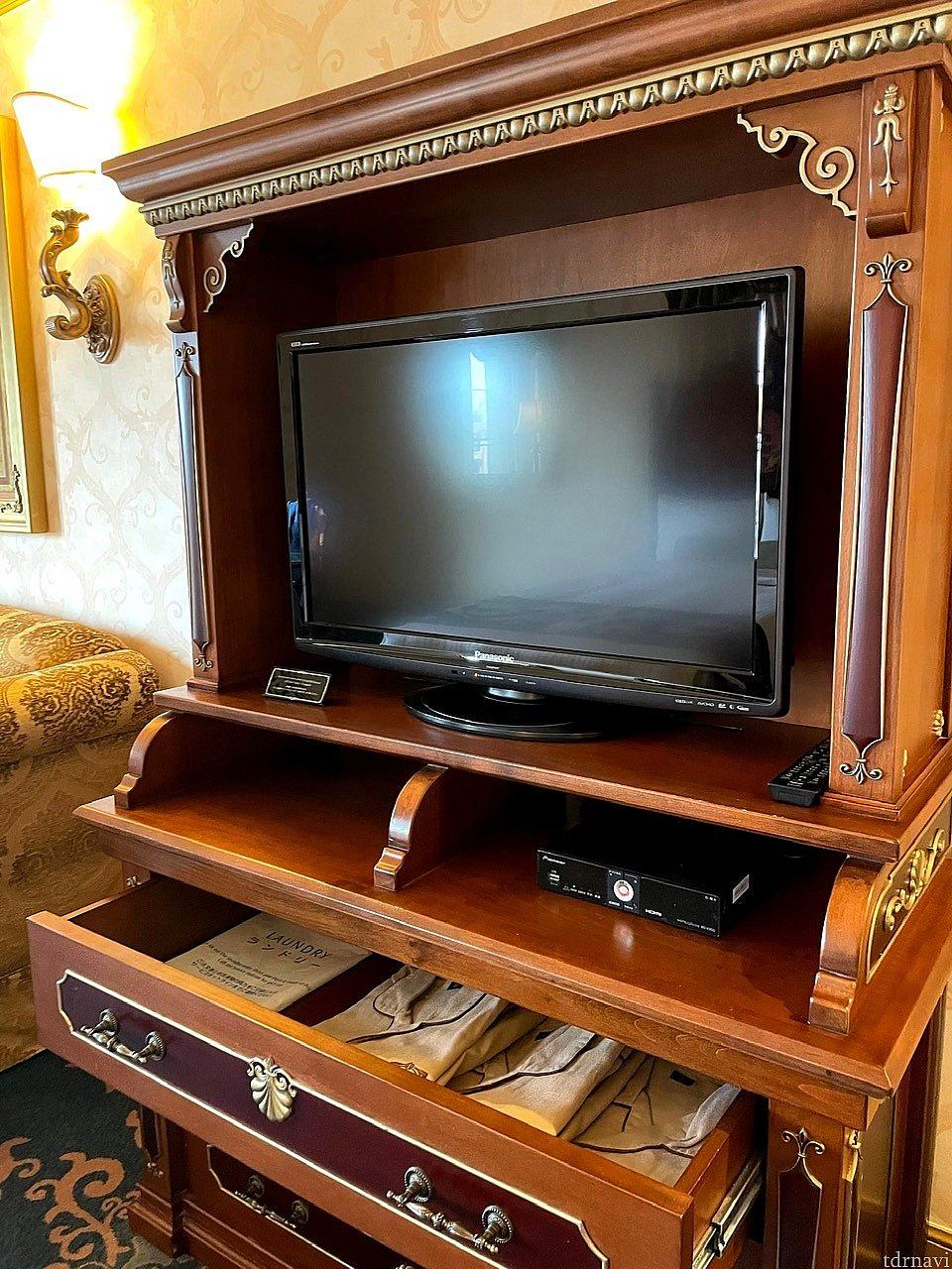 2009年製のテレビ。早く新調したほうがいいと思います。。。