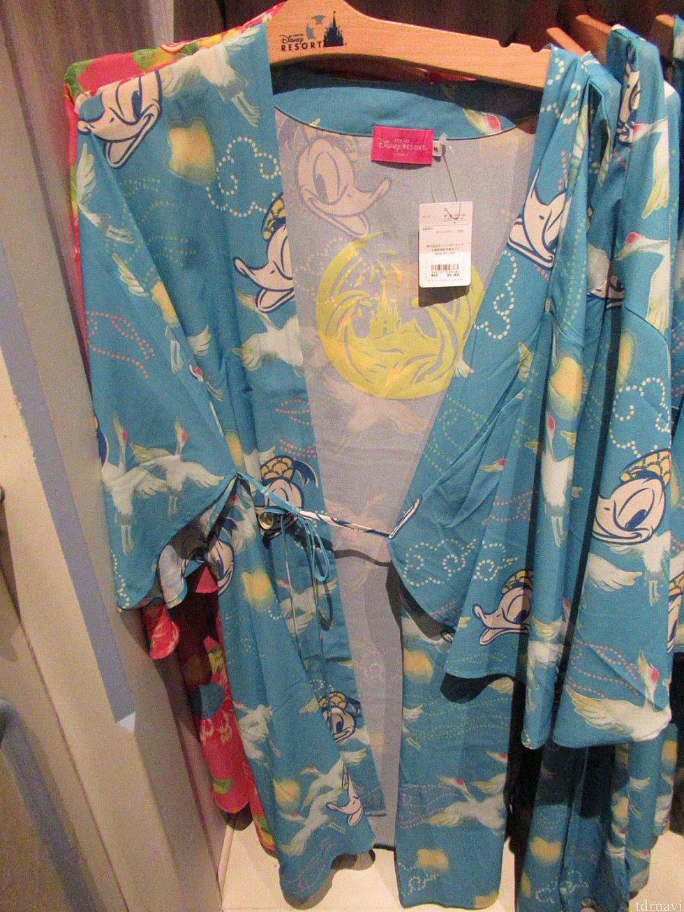 浴衣 ドナデジ柄 3800円