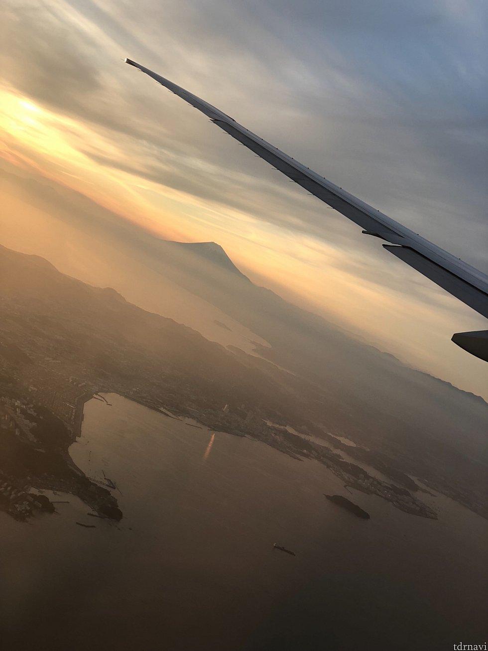 富士山🗻と翼をパチリ