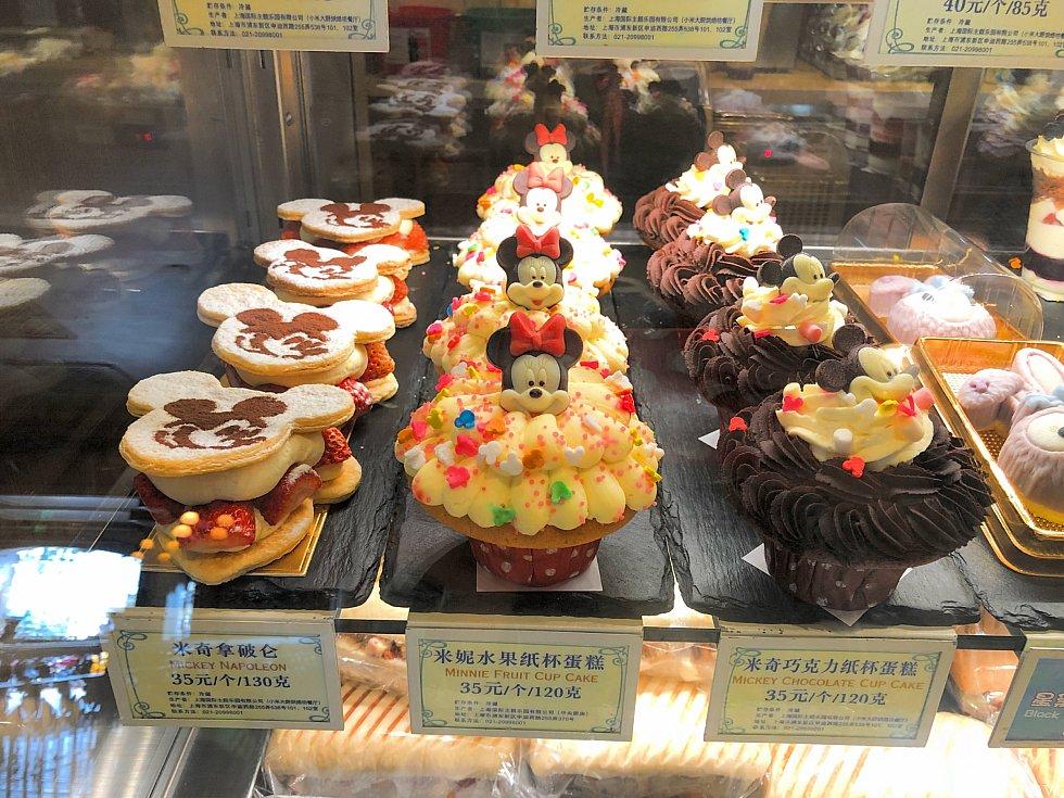 カップケーキはボリューム満点!