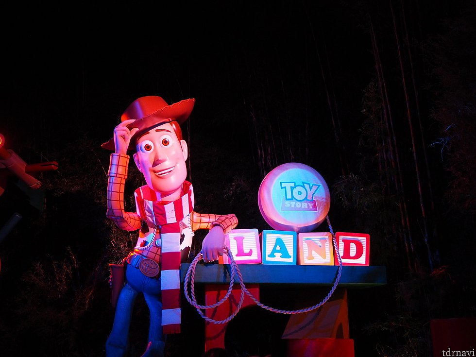 Holiday Cheers at Toy Story Land