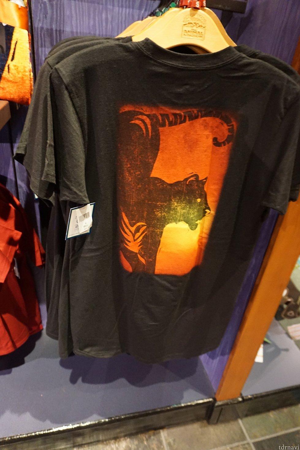男性用Tシャツは$24.99