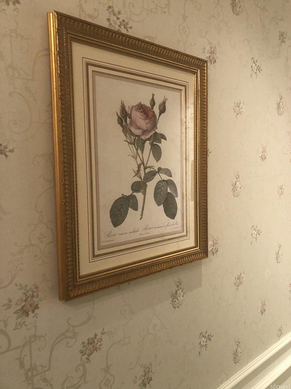 薔薇の絵画④