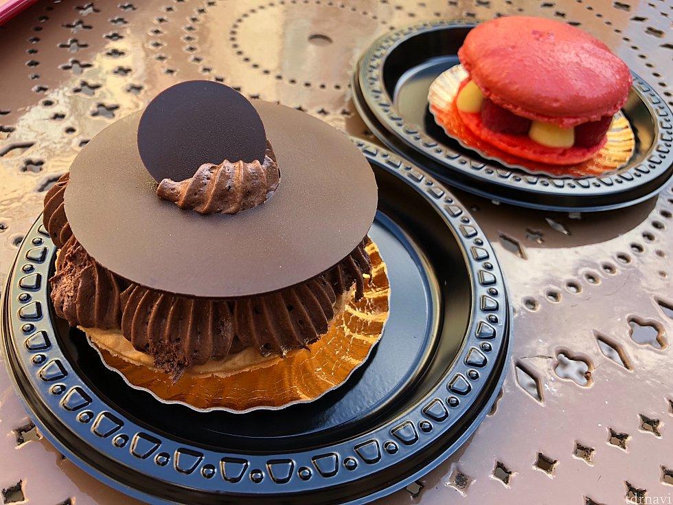 EPのフランス館でケーキ2つスナック2ポイント