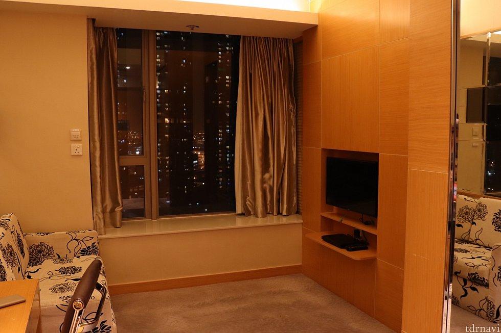 お部屋のリビングみたいな空間です。