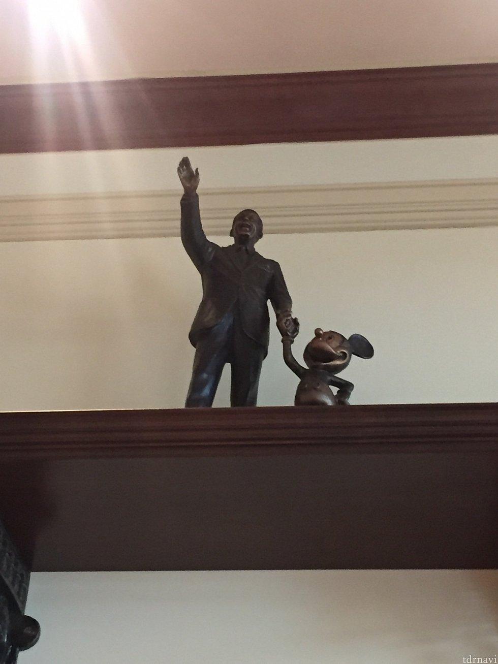 香港でこの像を見たのはここだけかも☺️ パーク内にあるのでしょうか??
