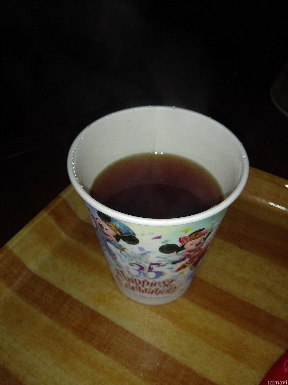 ドリンクは紅茶にしました😄